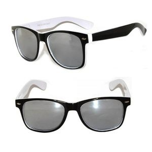 New Black White Wayfarer Sunglasses Unisex